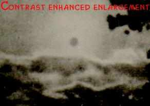 An enhanced photo of the sun during the Fatima apparition on October 13, 1917