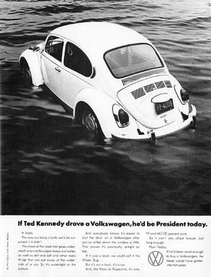 Ted Kennedy 1974 VW Ad