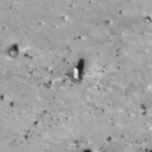 A new monolith! HiRISE image, NASA/LPI