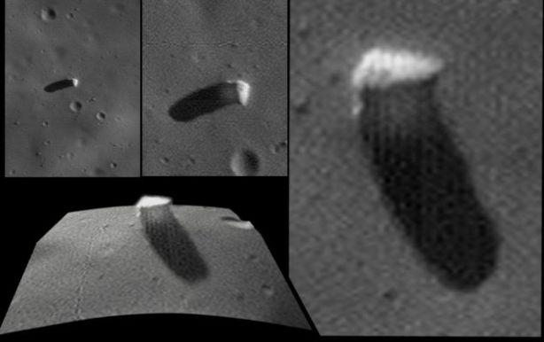 Phobos Monolith enhancement by Dr. M. Faccin, Lunar Explorer Italia.