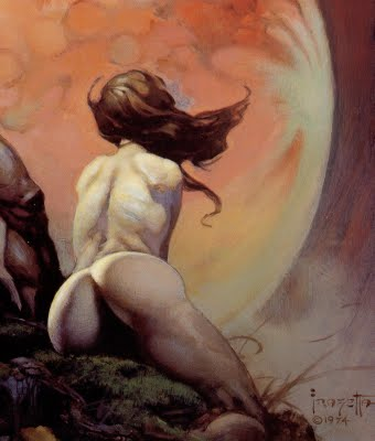 Something to excite a lad by Mr. Frazetta.