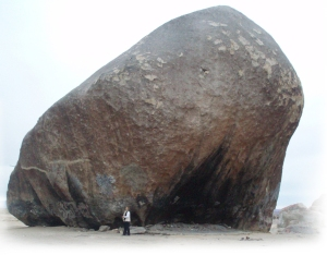 Giant Rock and Barb. Click to visit the site.