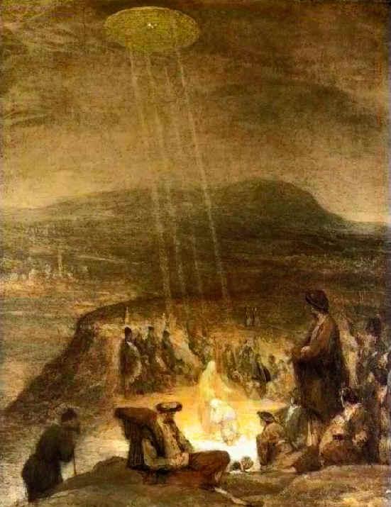 Baptism Of Christ By Aert DeGelder, 1710.