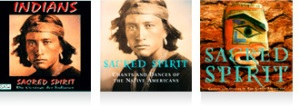 Sacred Spirit's album covers.
