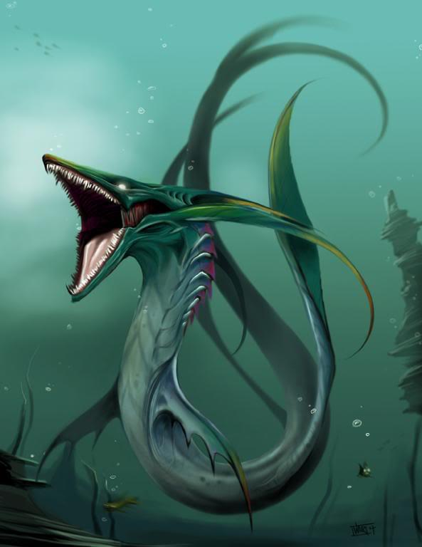 Sea Serpent Art