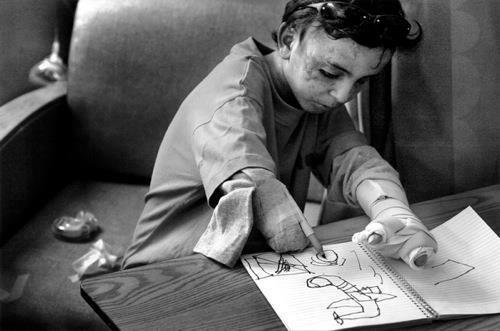 Iraqi Child Drawing Planes
