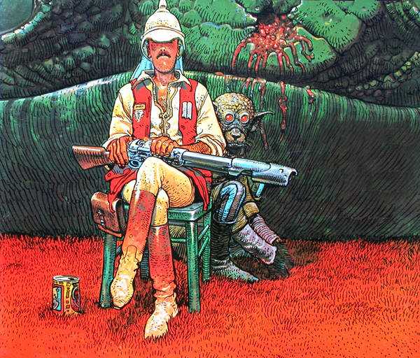 Hunter, by Jean Giraud, aka Moebius.