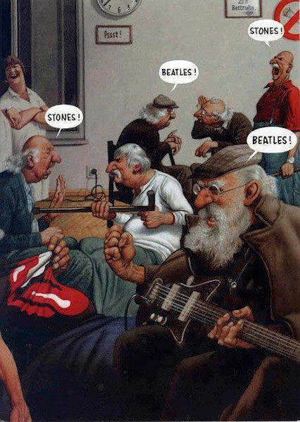 Stones! Beatles!