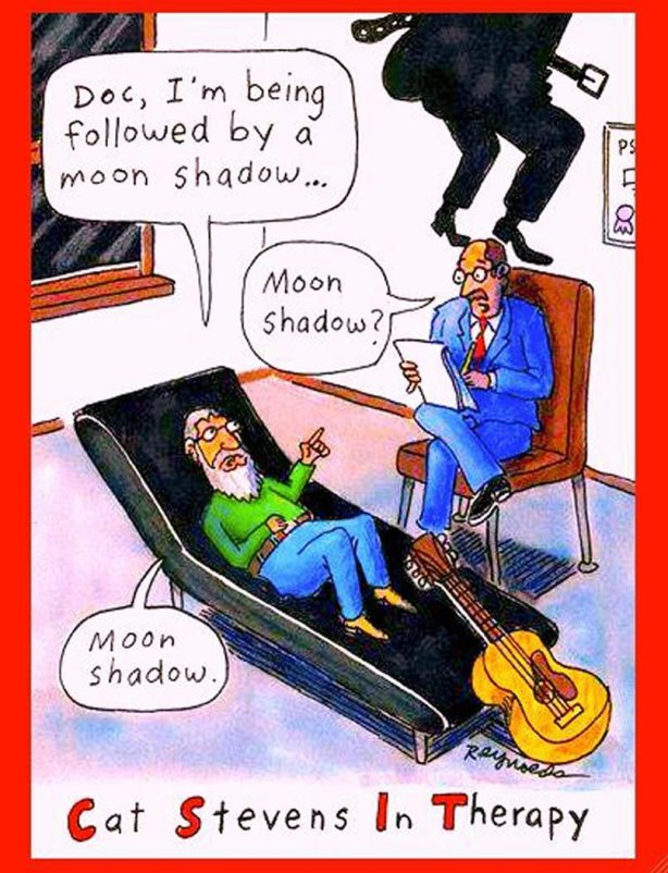 Cat Stevens in therapy.