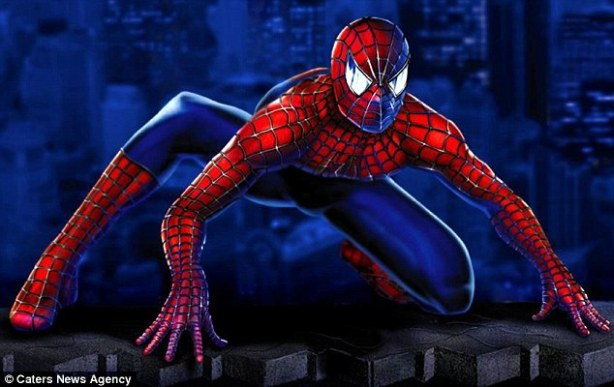 Marvel Comics superhero Spiderman.