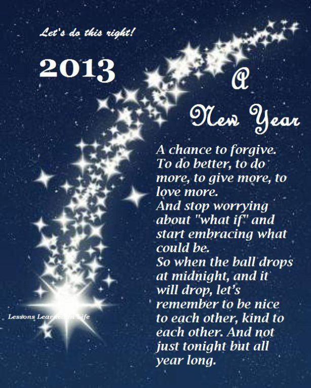 Hope for the New Year 2013...