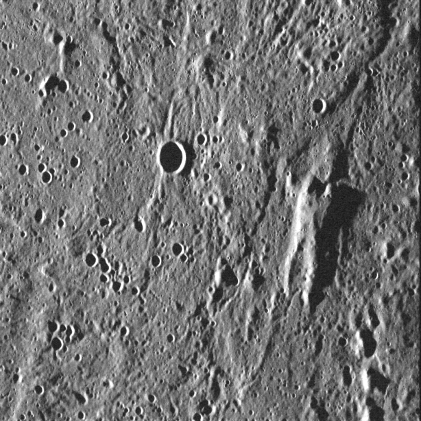 Han Solo on Mercury! Image Credit: NASA/Johns Hopkins University Applied Physics Laboratory/Carnegie Institution