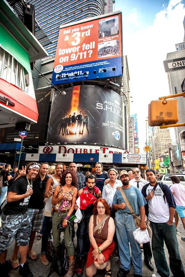 ReThink911 Times Square