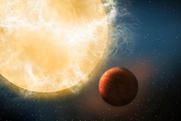 Kepler78b, artist's impression. Credit: TNG/Avet Harutyunyan